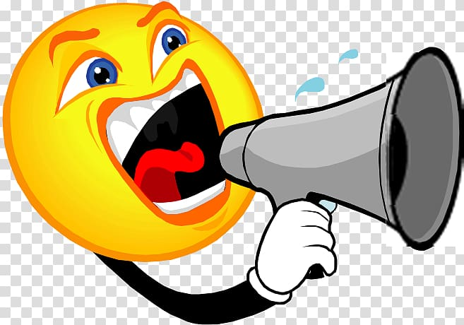Horn Megaphone , No Noise transparent background PNG clipart.