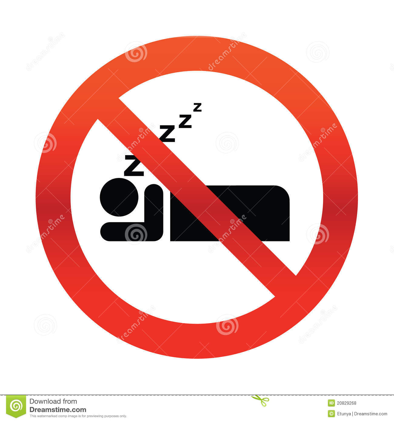 No sleep clipart 5 » Clipart Station.