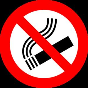 No Smoking Sign Clipart.