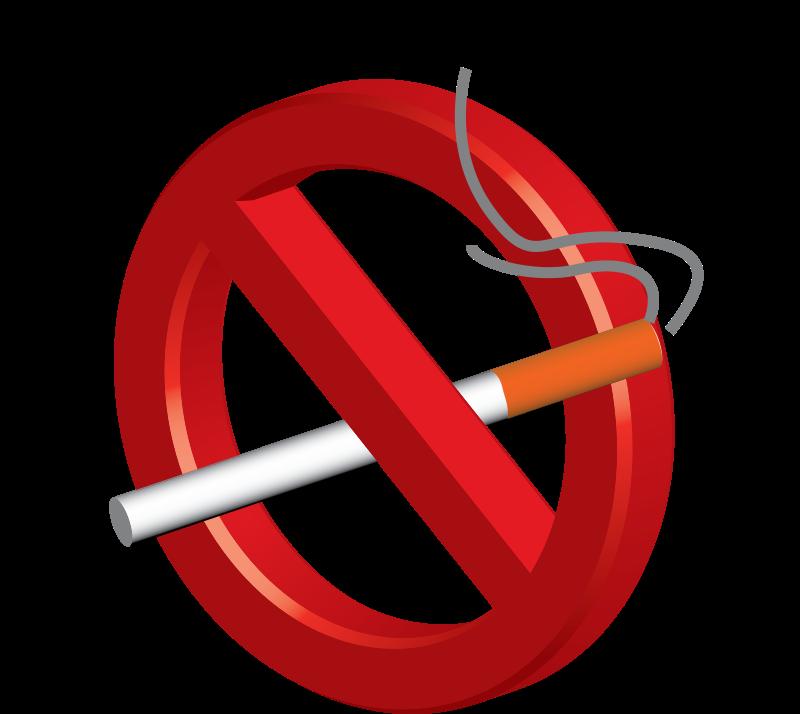 Clipart No Smoking Sign.