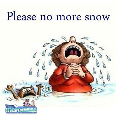 No more snow.
