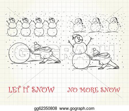 No More Snow Clipart.