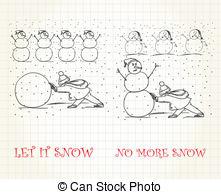 Let it snow Vector Clip Art Illustrations. 146 Let it snow clipart.