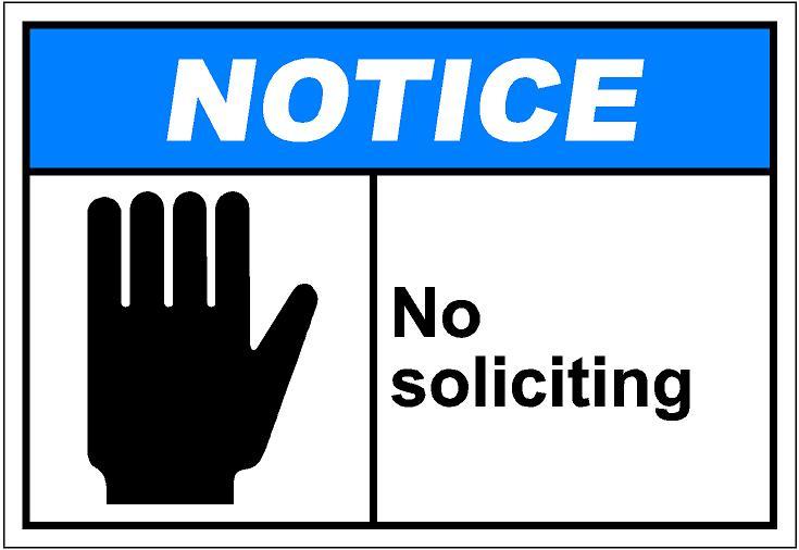 Solicitation Clipart.