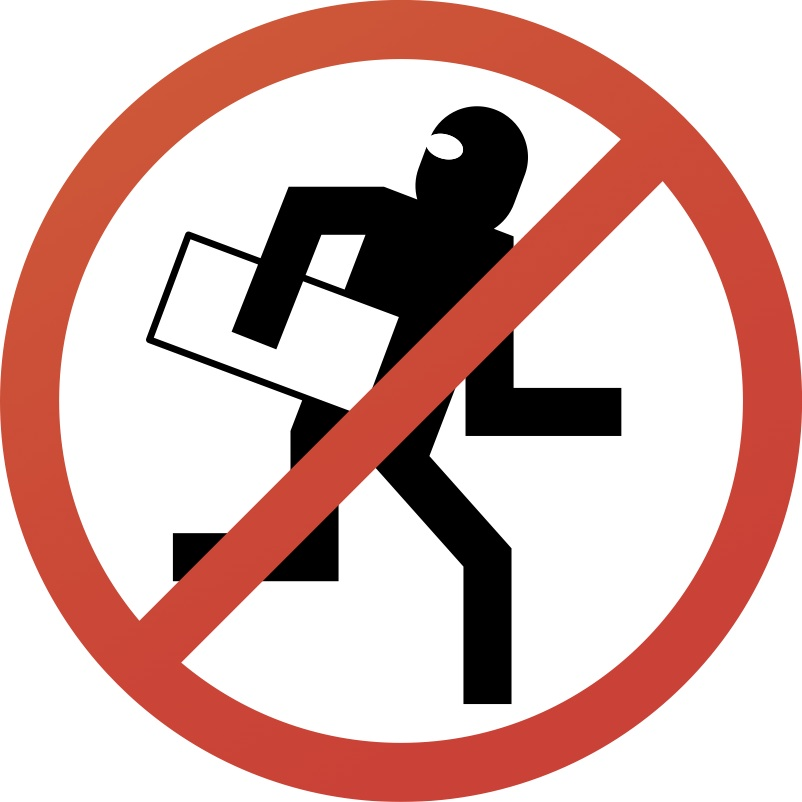 No Stealing Clipart.