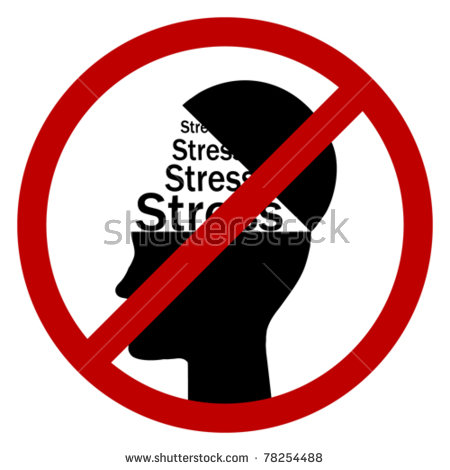 No Stress Stock Vector 78254488.