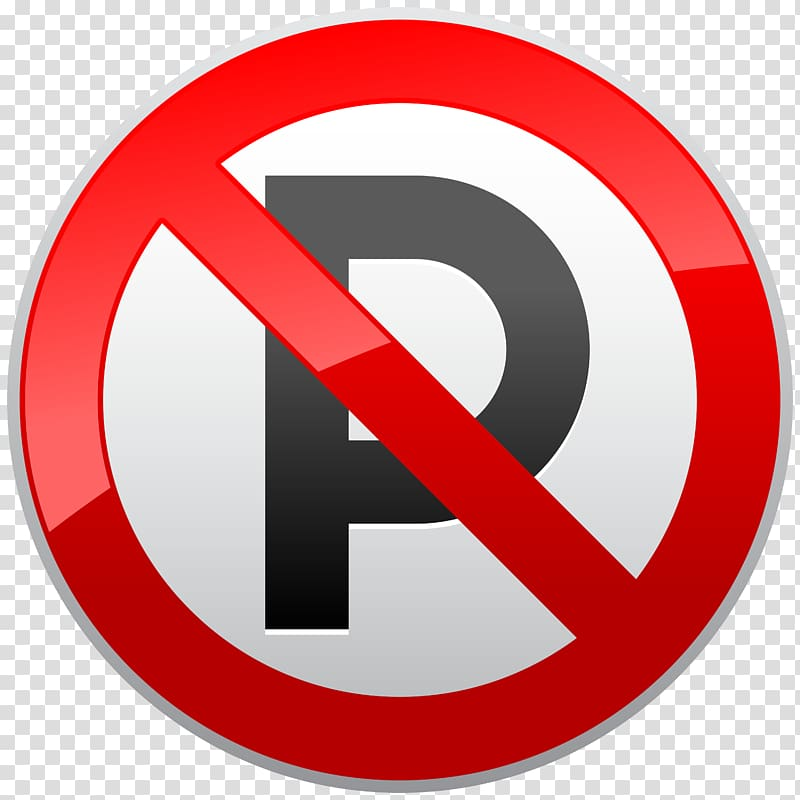 No symbol Parking Sign , signs transparent background PNG.