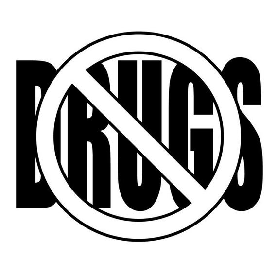 Say No To Drugs Clipart.