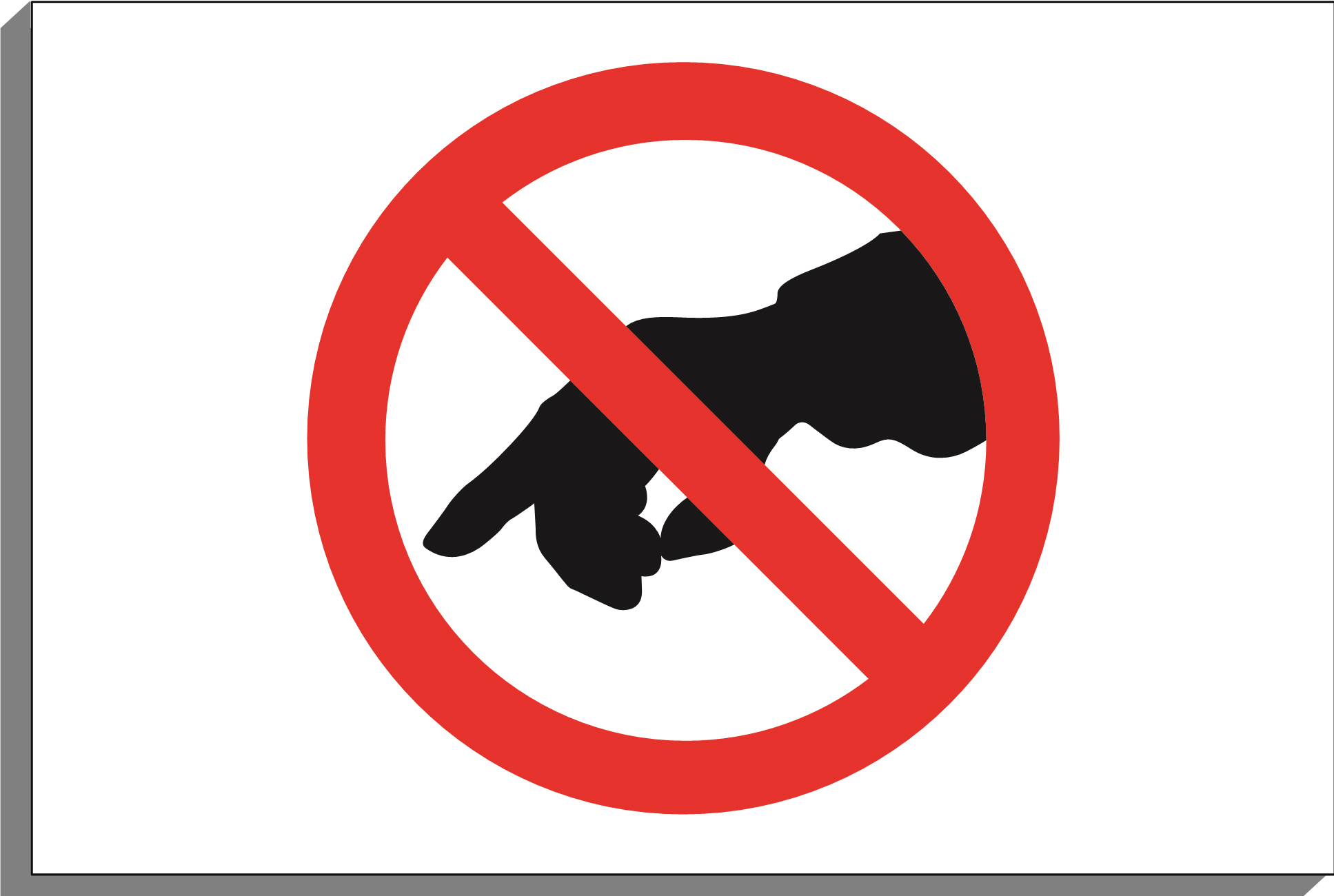 no touch clipart clipground