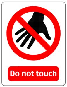Clip Art No Touching Clipart.