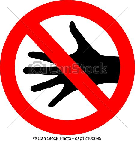 No touching Clip Art Vector Graphics. 426 No touching EPS clipart.