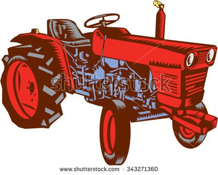 No tractors clipart #20