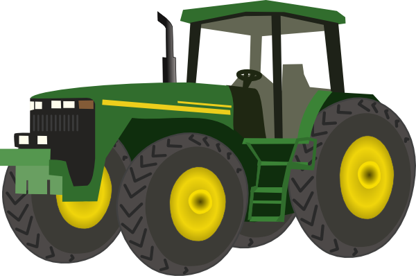 Tractor Clipart Vector.