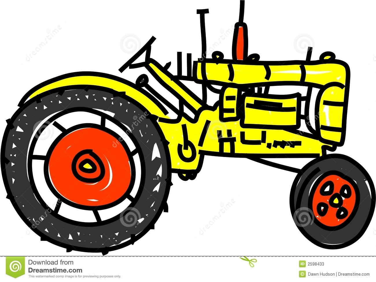 Tractor Border Clipart.