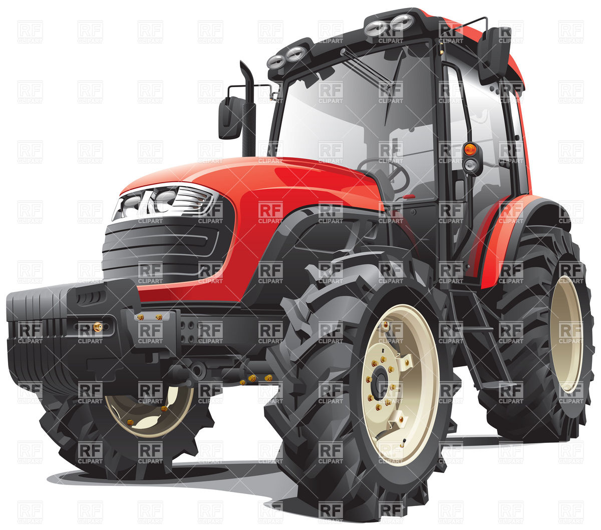 Free clipart no background tractor.