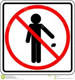 Similiar No Trash Signs Clip Art Keywords.
