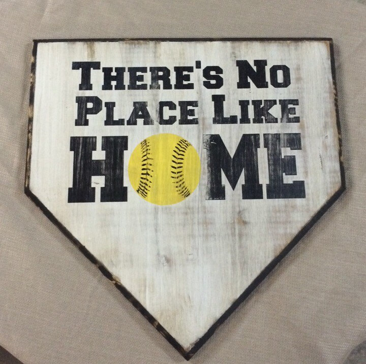 No Place Like Home Plate Clipart.