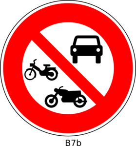No Vehicle Sign Clip Art at Clker.com.