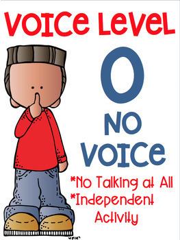 Voice Level Posters Melonheadz Clip Art Class Management.