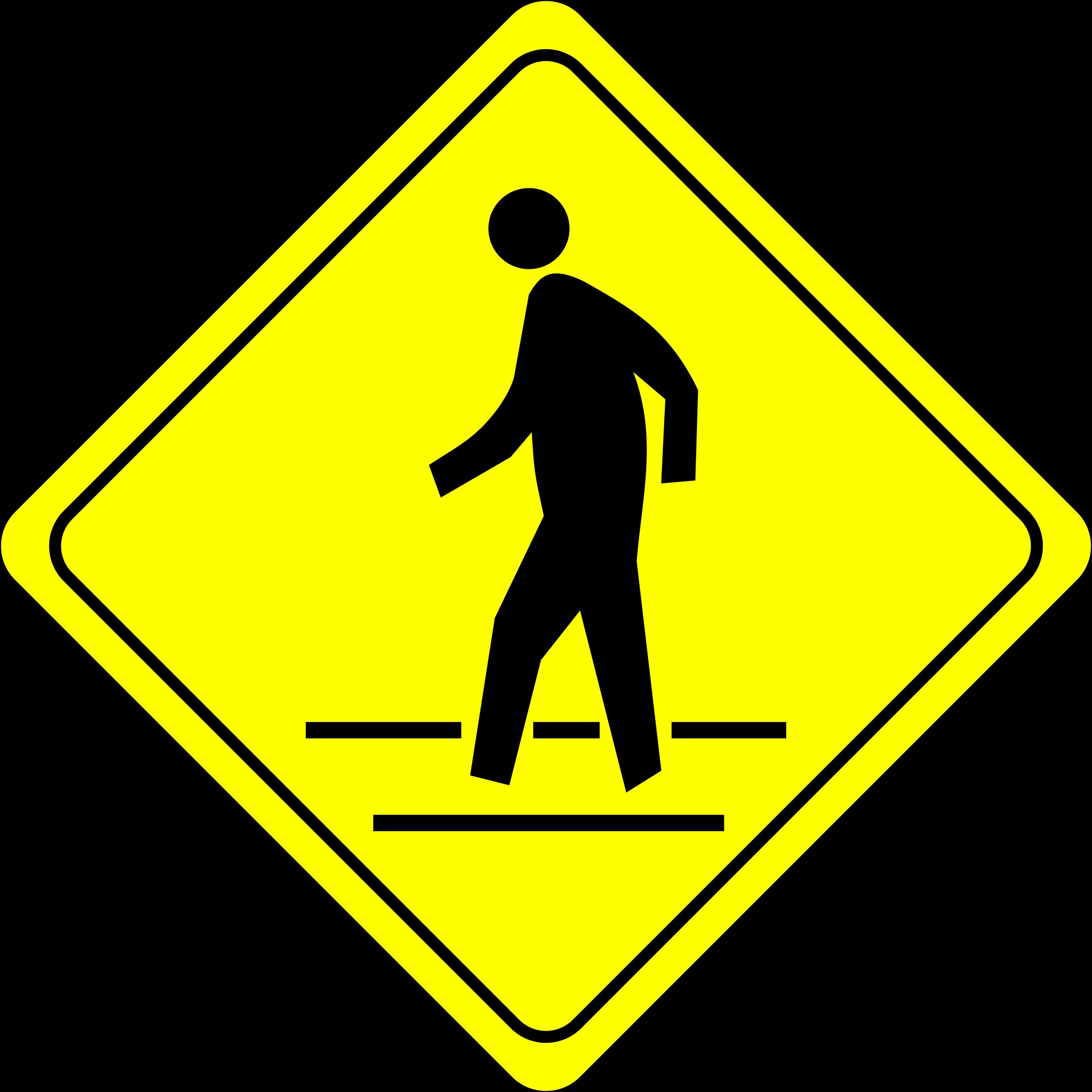Pedestrian Clipart.