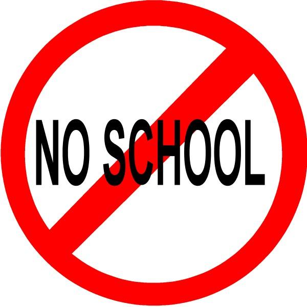 School Closings Signs Clipart.