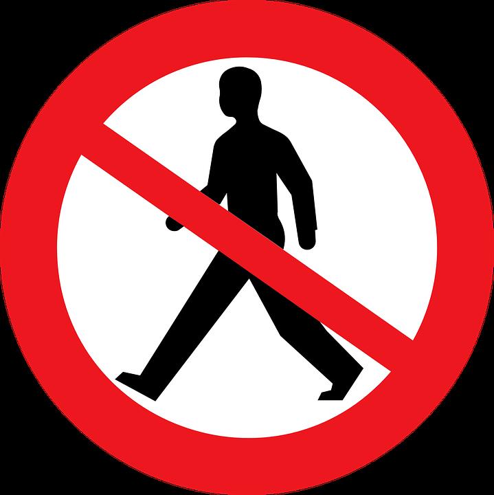 Pedestrians.
