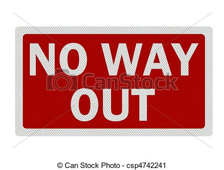 No way out Illustrations and Stock Art. 122 No way out.