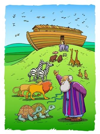 268 Noah Ark Cliparts, Stock Vector And Royalty Free Noah.