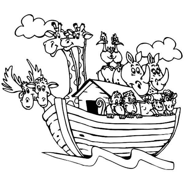 Animal Printouts for Noah\'s Ark.