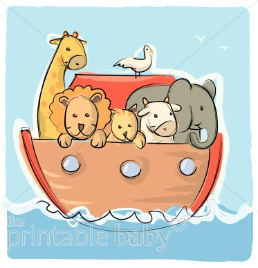 Noahs Ark on Water.