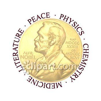Nobel peace prize clipart.