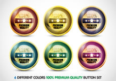 Noble Website Button Set Royalty Free Stock Photo.