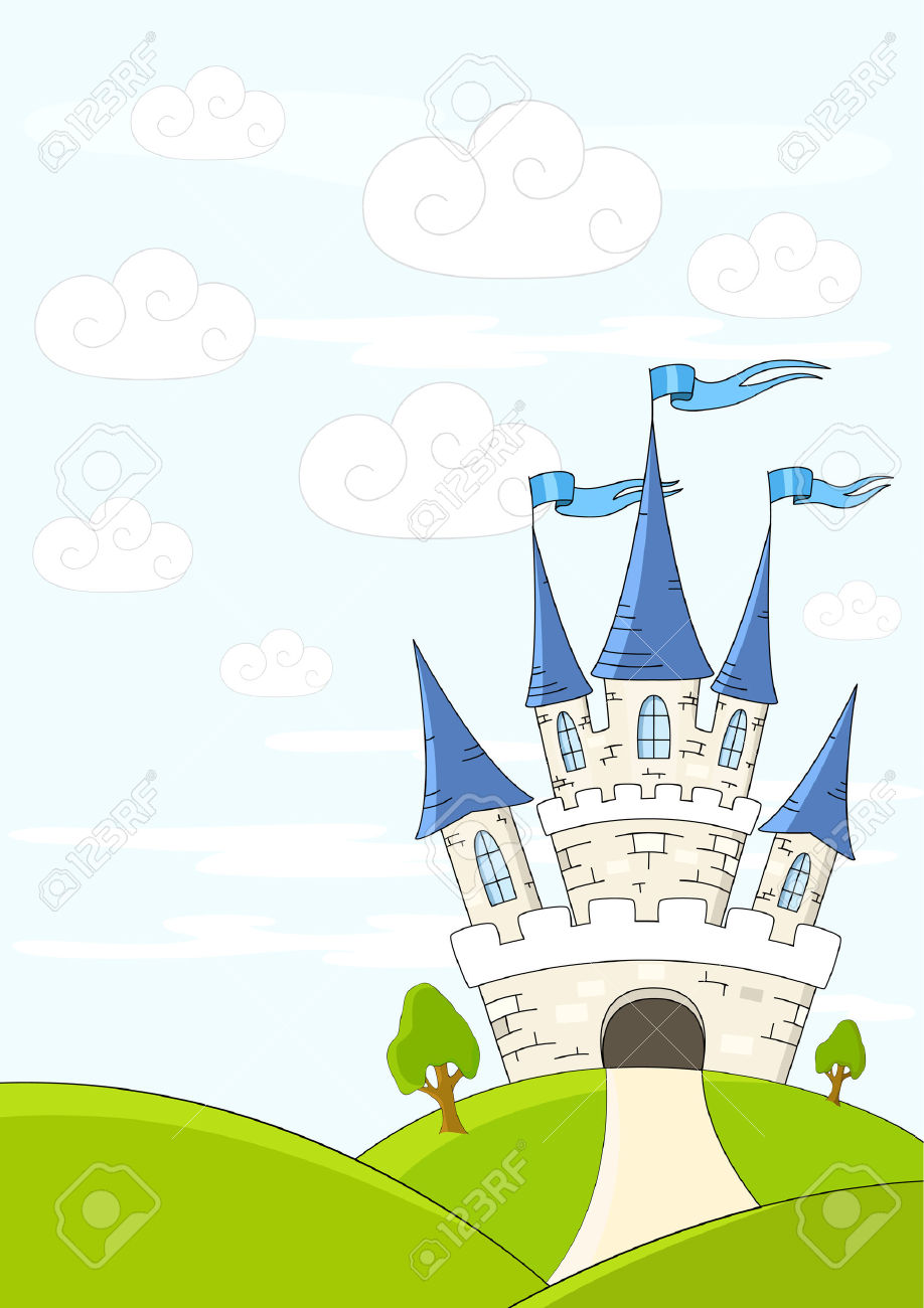Showing post & media for Cartoon green castle clip art.