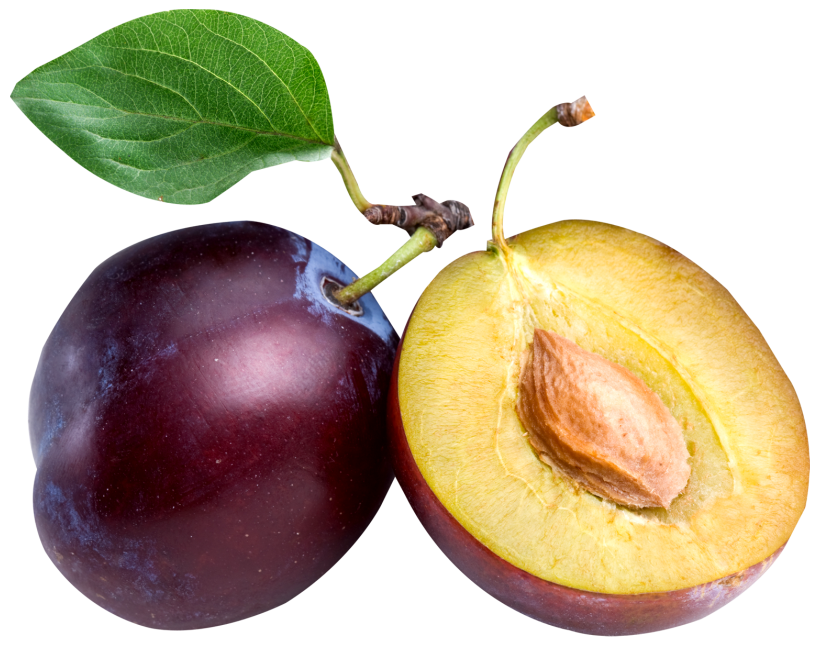 Large Plum PNG Clipart.