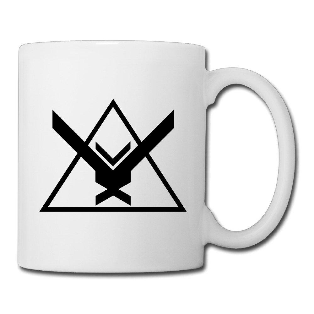 Christina The Halo Reach Noble Team Logo Ceramic Coffee Mug.