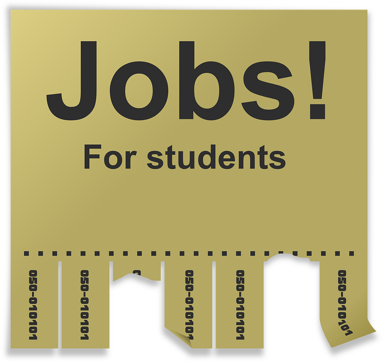 Free vector graphic: Stub, Notice, Jobs, Search.