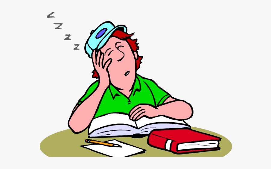 Sleepy Student Png.