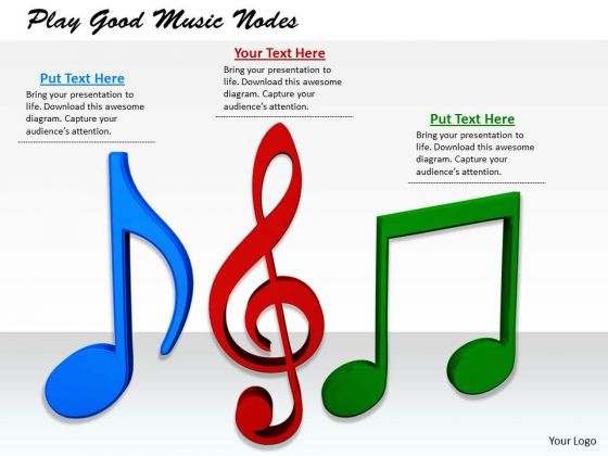 Stock Photo Corporate Business Strategy Play Good Music Nodes.