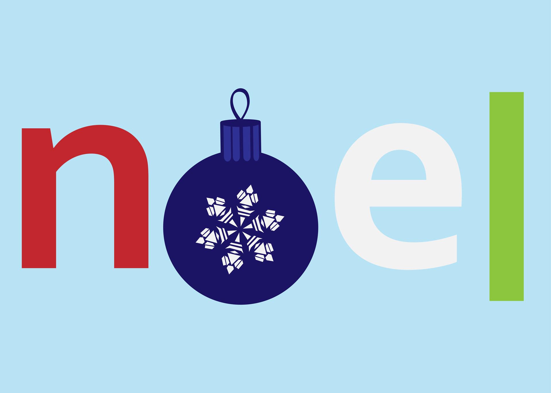 Noel Text Clipart Free Stock Photo.