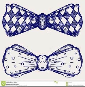 Clipart Noeud Papillon.