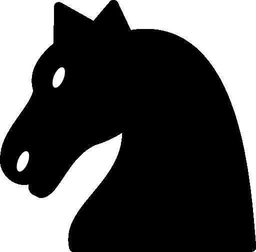 Cheval Noir Clipart.