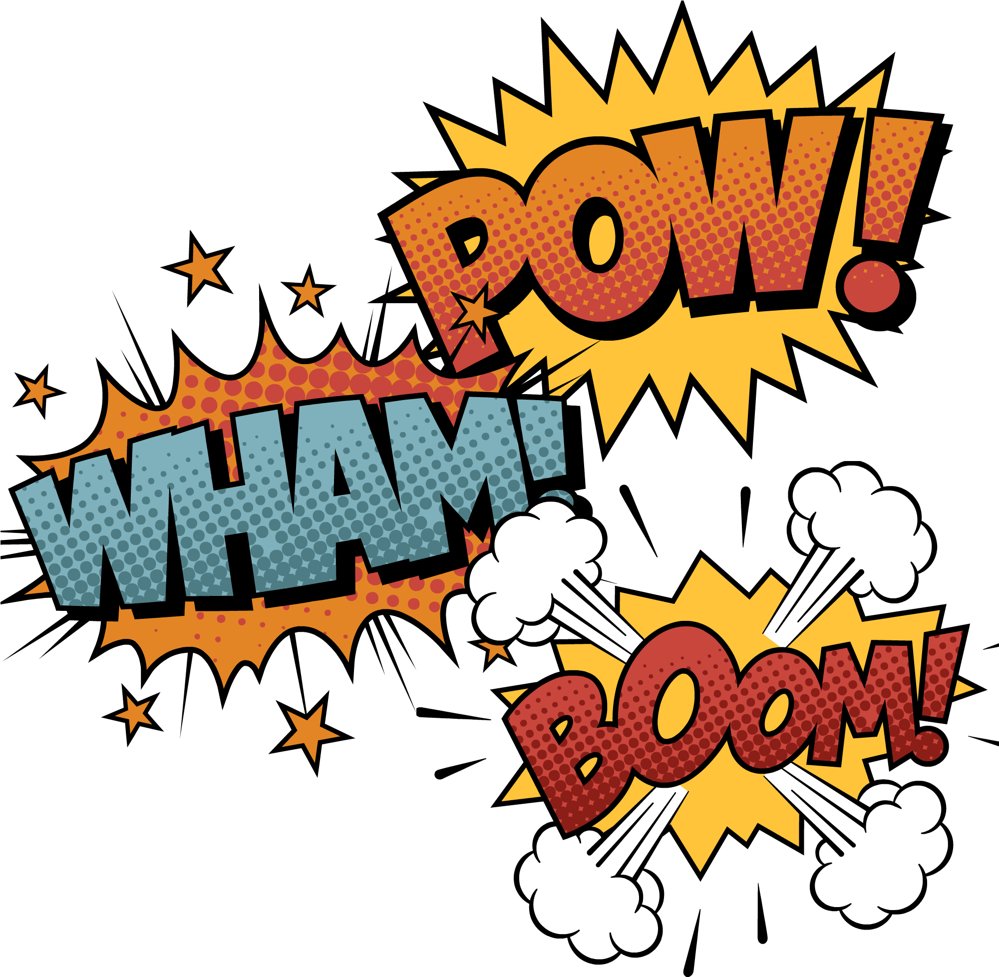 Bam Pow Zang Comics.