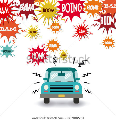 Noise Pollution Stock Images, Royalty.