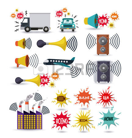 243 Sound Pollution Stock Vector Illustration And Royalty Free.