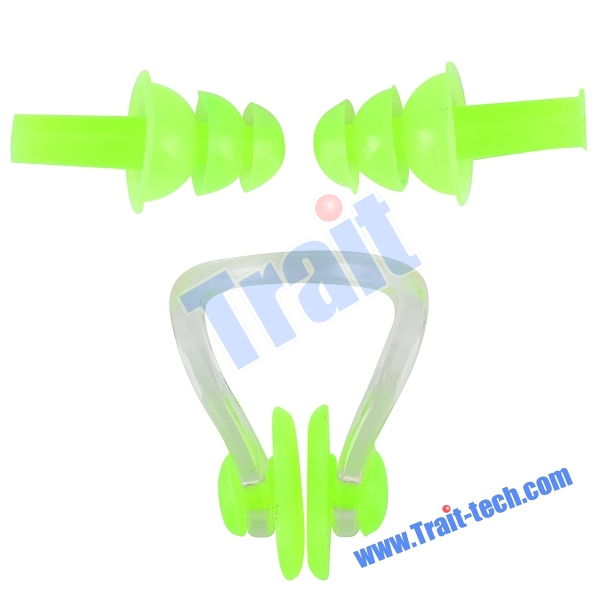 Clips Ear Plugs Prevent Water Noise Enter The Ear And Noise for.