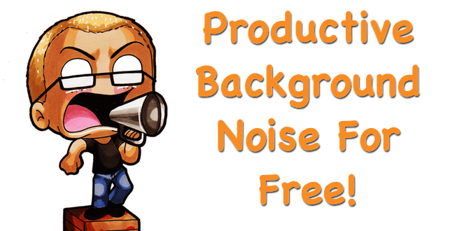 My Favourite Free Tool For Background Noise To Increase.