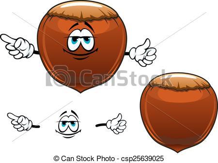 Illustration Vecteur de Sourire, fruit, caractère, dessin animé.