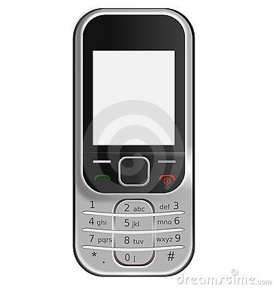Nokia mobile clipart.