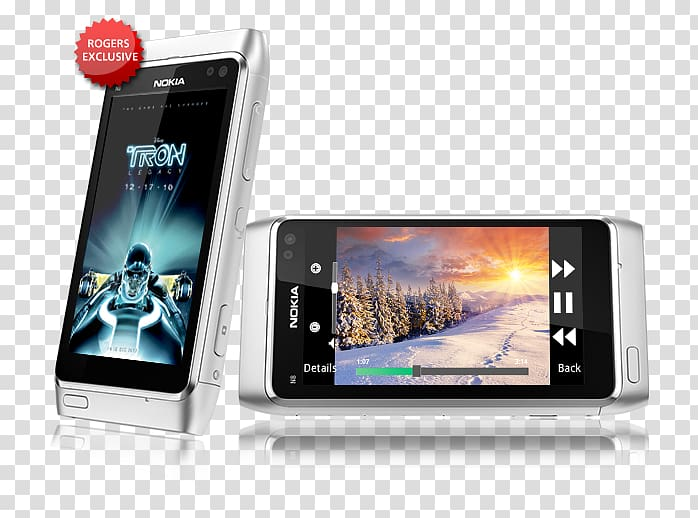 Feature phone Smartphone Nokia N8 Symbian^3, smartphone.