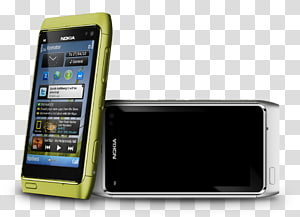 Nokia N8 transparent background PNG cliparts free download.